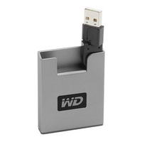 "Накопитель HDD USB2.0 6GB Western Digital Passport Pocket WDXMM60WPE (4600rpm, 2Mb, 1"")"