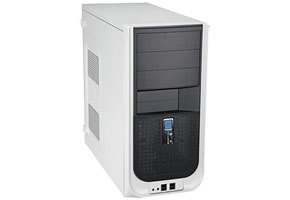 "Корпус ATX MidiTower InWin S605TA (серебр./черн., 450W ATX12V V2.0, 5""3ext, 3""2ext+2int, 4USB, 2audio)"