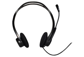 Гарнитура Logitech PC Headset 960 USB (20-20000Гц, микрофон 100-16000Гц) 981-000100