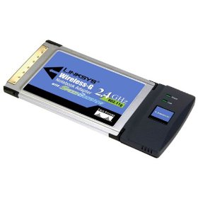 Сетевая карта Linksys WPC54GS-EU Wireless-G Notebook Adapter SpeedBooster (CardBus PC Card, 802.11g)
