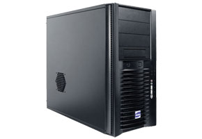 "Корпус серверный ATX MidiTower Antec Atlas 550 (черн., 550W, 5""4ext, 3""4int, 2USB2.0, Audio, Fan 120mm)"