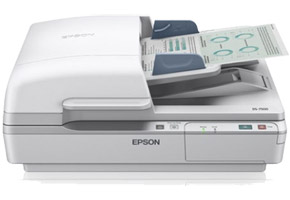 Сканер Epson Workforce DS-7500 (A4, CCD, 1200x1200dpi, 48bit, ADF, 40стр./мин, USB2.0)  B11B205331