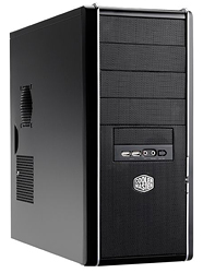 "Корпус ATX MidiTower Cooler Master Elite 334 RC-334-KKN1-GP (серебр./черн., без БП, 5""4ext, 3""1ext+6int, 2USB2.0, 2audio, Fan 120mm)"