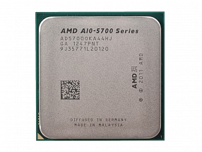 Процессор SocketFM2 AMD A10-5700 (3.4GHz, 4core, L1 2x96Kb + L2 2x2Mb, Radeon HD 7660D, 65W)