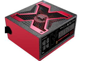 Блок питания ATX 600W AeroCool Strike-X 600 80+  (ATX12V V2.3, 20/24+4/8pin, 4HDD, 1FDD, 4SATA, 2x6/8pin PCIE, Fan 139mm)