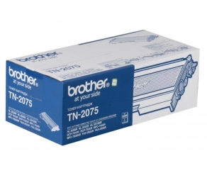 Тонер-картридж Brother TN-2075 для Brother HL-2030R/2040R/2070R/ DCP-7010R/7025R/MFC-7420R/7820R/2825/2920R (2500 стр.)