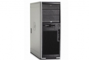 Системный блок HP Compaq ET115AV xw4400 Workstation Base Unit (C2D E6700(2.64), i975X Express, DDR2 667 2Gb, 2x250Gb, DVDRW LS, FDD, WXPP, клав, мышь)