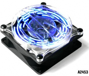 Вентилятор для корпуса Thermaltake A2453 Cyclo Blue Pattern Fan (80x80x41mm, 19дБ, 1800rpm, 4-pin)