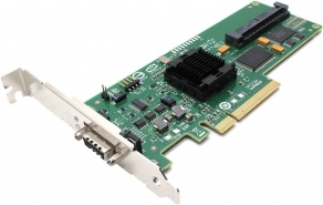 Контроллер SATA/SAS LSI SAS3442E-R PCI Express, 3 Gb/s, SAS, 8-port Host Bus Adapter  LSI00167
