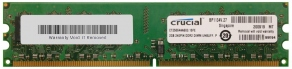 Модуль памяти DIMM DDR2 2GB PC6400 800MHz Crucial CT25664AA800