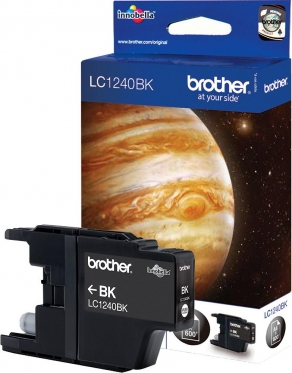 Картридж струйный Brother LC1240BK черный (black) для Brother DCP-J925DW, MFC-J430W/J5910DW/J6510DW/J6910DW (600 стр.)