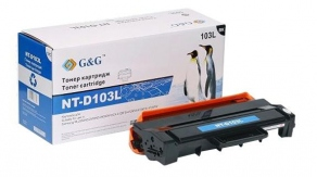 Тонер-картридж G&G NT-D103L для Samsung ML-2950ND/ 2955ND/ 2955DW/ SCX-4727/4728FD (2500 стр.)