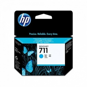 Картридж струйный HP №711 CZ130A голубой (cyan) для HP DesignJet T120/T520 (29ml)