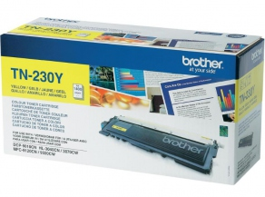 Тонер-картридж Brother TN-230Y Желтый для  Brother HL-3040, DCP-9010CN, MFC-9120CN (1400 стр.)