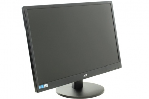 "Монитор 23.6"" AOC E2470SWDA (черн., audiо 2x1Вт, 1920x1080 LED, 250 cd/m2, 1000:1 (DCR 20M:1), 5ms, D-Sub, DVI)"