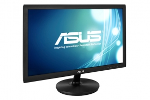 "Монитор 21.5"" ASUS VS228NE черный (1920x1080 TN LED, 200cd/m2, DC 50M:1,  90°/65°, 5ms , D-Sub, DVI) 90LMD8001T02211C-"