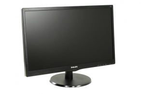 "Монитор 21.5"" Philips 223V5LHSB/00(01) черный (LED, LCD, 1920x1080, 5 ms, 170°/160°, 250 cd/m2, 10M:1, D-Sub, HDMI)"