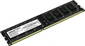 Модуль памяти DIMM DDR3 4GB PC12800 1600MHz AMD Memory Entertainment Series RE1600 R534G1601U1S-UO/2S-UO