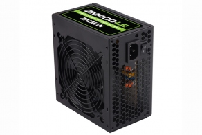 Блок питания ATX 400W Zalman ZM400-LE (ATX12V v2.3, 20/24+2/8pin, 4HDD, 1FDD, 4SATA, 2x6pin PCIE, Fan 120mm) + кабель Euro 1.5m