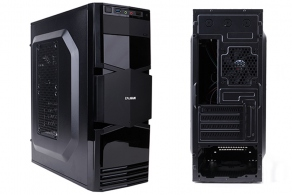 "Корпус microATX MiniTower Zalman ZM-T3 (черн., без БП, 5""1ext, 3""2int, 2""3int, USB2.0, USB3.0, Audio, Fan 90mm)"