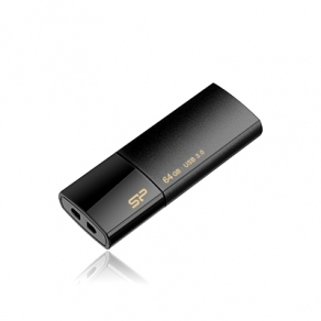 Накопитель Flash USB3.0 Drive 64GB Silicon Power Blaze B05 SP064GBUF3B05V1K черный