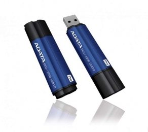 Накопитель Flash USB3.0 Drive 32GB A-DATA S102 PRO AS102P-32G-RBL, алюминий, синий