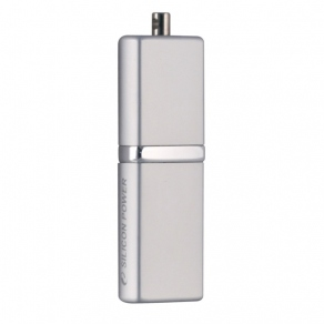 Накопитель Flash USB2.0 Drive 16GB Silicon Power LuxMini 710  SP016GBUF2710V1S серебр.