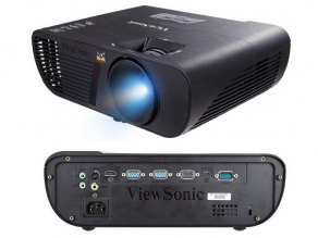 Проектор ViewSonic PJD5555W (DLP, 1280x800, 3300Lm, 20000:1, HDMI, 2xVGA in, 1xVGA out, 1x2W speaker, 3D Ready, lamp 5000/10000hrs, 2.2kg)