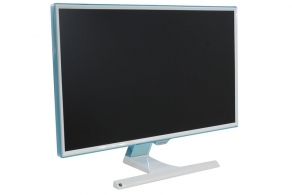 "Монитор 27"" Samsung S27E391H (381HSX) (белый /голубой, 1920x1080 PLS LED, 300cd/m2, 1000:1 (DCR MEGA), 4msGTG, D-Sub, HDMI )"