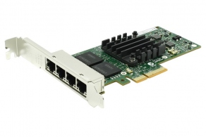 Сетевая карта PCIe Intel E1G44HTBLK Gigabit Adapter Quad Port PCI-Ex4 10/100/1000Mbps