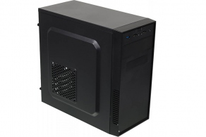 "Корпус microATX MiniTower Accord A-07B (черн., без БП, 5""1ext, 3""1ext, 2""2int, 2USB2.0, 1USB3.0, audio, mic)"