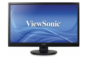 "Монитор 21.5"" ViewSonic VA2246A-LED черн. (TN, LED, 1920x1080, 5 ms, 170°/160°, 250 cd/m2, 1000:1 (DC10M:1), D-Sub)"