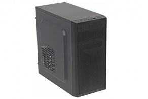 "Корпус microATX MiniTower Accord A-08B (черн., без БП, 5""1ext, 3""1ext, 2""2int, 2USB2.0, audio, mic)"