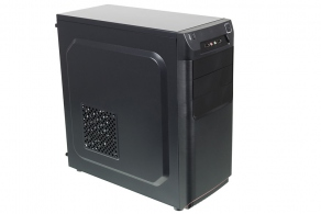 "Корпус ATX MidiTower Accord ACC-B305 (черн., без БП, 5""1ext, 3""2int, 2""2int, 2USB2.0, Audio, Mic)"