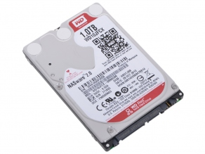 "Жесткий диск 2.5"" SATA-III 1TB Western Digital Red WD10JFCX (for NAS, 5400rpm, cache 16MB)"