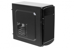 "Корпус microATX MiniTower LinkWorld VC-09304 (черн., без БП, 5""1ext. 3""1int, 2""2int, 2USB2.0, Audio)"