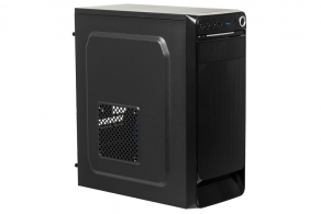 "Корпус ATX MidiTower Accord ACC E-01B (черн., без БП, 5""1ext, 3""2int, 2""2int, 2USB2.0, USB3.0 Audio, Mic)"