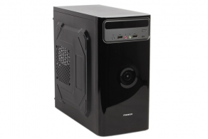 "Корпус microATX MiniTower Sunpro Premier I (черн., 450W, 5""1ex, 3""1int, 2USB2.0, audio, mic)"