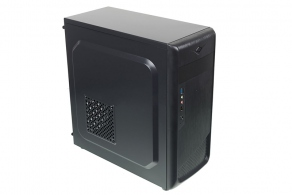 "Корпус ATX MidiTower Accord ACC-B307 (черн., без БП, 5""1ext, 3""2int, 2""2int, USB2.0, USB3.0, Audio, Mic)"