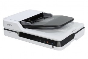 Сканер Epson WorkForce DS-1630 (A4, 1200dpi, 48bit, 25/10ppm, Duplex, USB3.0)  B11B239401