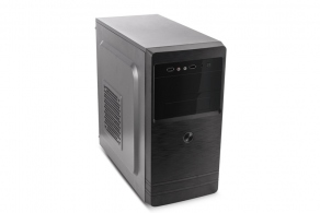 "Корпус microATX MiniTower 3Cott M1509 (черн., 400W, 5""1ext, 3""1ext+1int, 2""1int, 2USB2.0, mic, audio)"