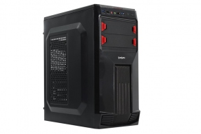 "Корпус ATX MidiTower ExeGate AB-224U (черн., без БП, 5""2ext, 3""6int, 2USB3.0, 2USB, 2audio)"