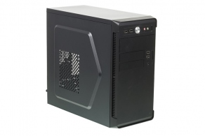 "Корпус microATX MiniTower Accord ACC-B022 (черн., без БП, 5""1ext, 3""2ext+1int, 2""1int, 4USB2.0, Audio, Mic)"