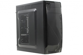 "Корпус ATX MidiTower AeroCool CS-1102 (черн., без БП, 5""1ext, 3""3int, 2""1int, 2USB, 1USB3.0, audio, Fan 80mm)"