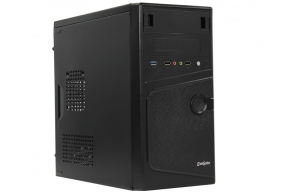 "Корпус microATX MiniTower ExeGate BA-121U (черн., 450W, 5""1ext, 3""2ext+3int, 2""1int, 2USB, 1USB3.0, 2audio) EX271408RUS"