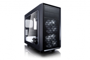 "Корпус microATX MiniTower Fractal Design Focus G Mini Black Window FD-CA-FOCUS-MINI-BK-W (черн., без БП, 5""2ext, 3""2int, 2""1int, USB, USB3.0/3.1, audio, Fan: 2x120mm) 084914"