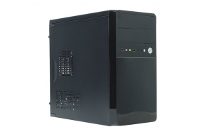 "Корпус microATX MiniTower ExeGate BA-110 (черн., 350W, 5""1ext, 3""3int, 2USB, 2audio) EX268705RUS"
