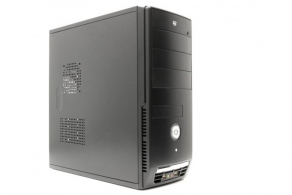 "Корпус ATX MidiTower ExeGate Concept CP-501 (черн., 350W, 5""4ext, 3""1ext+4int, 2USB2.0, 2audio) EX156802RUS"