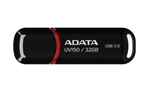 Накопитель Flash USB3.0 Drive 32GB A-DATA UV150 AUV150-32G-RBK