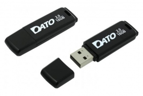 Накопитель Flash USB2.0 Drive 16GB Dato DB8001 DB8001K-16G черный